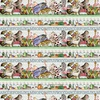 Riley Blake Hungry Animal Alphabet Border