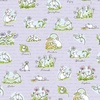 Clothworks Daisy Daisy Scene Light Purple