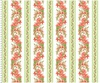 Maywood Studio Sommersville Gladiolus Stripe Soft White/Green