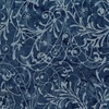 Andover Fabrics Bakers Dozens Batik Scroll Blue