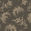 Windham Fabrics Annie Mono Floral Charcoal