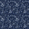 In The Beginning Fabrics Garden Delights III Delicate Blooms Blue