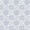 Benartex Social Butterfly Flower Scroll Grey