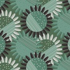 Clothworks Rosewood Flower Forest