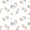 Camelot Fabrics Winnie the Pooh Wonder Whimsy Forest Tan