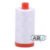 Aurifil Thread White