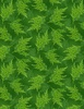 Wilmington Prints Holiday Lane Ferns Green