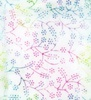 Maywood Studio Bejeweled Batiks Tiny Flowers White/Multi
