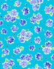 Quilting Treasures Delilah Tossed Floral Dark Turquoise