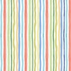 Clothworks Bike Ride Stripe Multi