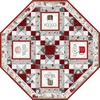 Hot Cocoa Bar Table Topper Free Quilt Pattern