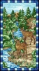 Studio E Fabrics Mosaic Forest Panel