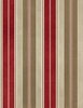 Maywood Studio Heritage Woolies Flannel Awning Stripe Red/Tan
