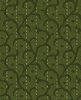 Maywood Studio Heritage Woolies Flannel Stitched Scroll Green