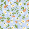 Maywood Studio Fresh As A Daisy Daisies and Berries Blue/Sunshine
