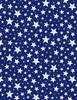 Wilmington Prints Berry Sweet Stars Blue