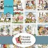 Hungry Animal Alphabet Fat Quarter Bundle by Riley Blake Designs