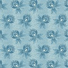 Andover Fabrics Perfect Union Boutonniere Blue Frost