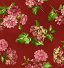 Maywood Studio Lexington Medium Floral Red