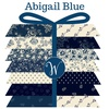 Abigail Blue Fat Quarter Bundle by Windham Fabrics