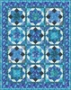 Touch the Sky - Indigo Magic Free Quilt Pattern