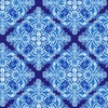 Henry Glass Blue Dream Casablanca Tile Navy