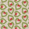 Studio E Fabrics Snow Place Like Home Tossed Heart Wreath Tan