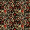 In The Beginning Fabrics Garden Delights III Hexagons Red