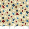Northcott Stonehenge Stars and Stripes Flannel Multicolored Stars