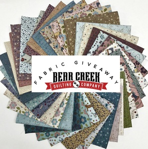 Bear Creek Quilting Company January 2021 Fabric Bundle Give-Away