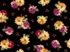 Quilting Treasures Danielle Spaced Floral Black