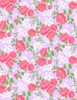 Wilmington Prints Fleurette Rose Garden Purple