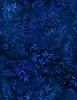 Wilmington Prints Essentials Mottled Leaves 108 Inch Backing Navy