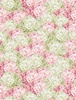 Wilmington Prints Butterfly Haven Hydrangea Pink/Green