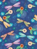 Wilmington Prints Floral Flight Dragonfly Blue
