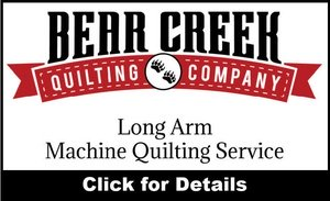 Long Arm Machine Quilting Service