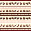 Henry Glass My Red Wagon Border Stripe