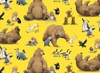 Elizabeth's Studio Adventures Of Bear And Friends Animal Toss Yellow