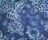 Northcott Banyan Batiks Boho Beach Flowers Leaves Navy/Turquoise
