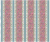 Maywood Studio Flower and Vine Border Stripe Pink