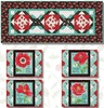 Poppy Perfection Free Table Set Pattern