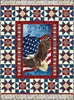 Stonehenge Stars and Stripes American Independence Free Quilt Pattern