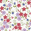 Riley Blake Designs Home Again Floral Toss White