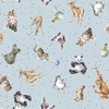 Maywood Studio Love Is Animals Light Blue