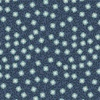 Lewis and Irene Fabrics Michaelmas Small Floral Dark Blue