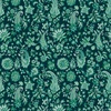 In The Beginning Fabrics Garden Delights III Paisley Teal