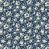 Windham Fabrics Abigail Blue Packed Floral Navy