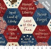 Northcott Stonehenge Stars and Stripes Bikg American Hexies 108 Inch Backing