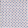 Moda America the Beautiful Stars and Stripes Distressed White
