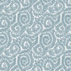 Camelot Fabrics The Wisteria Collection Berkeley Scroll Blue